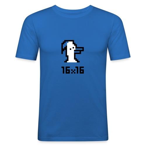 16x16 ouazo 3 - T-shirt près du corps Homme