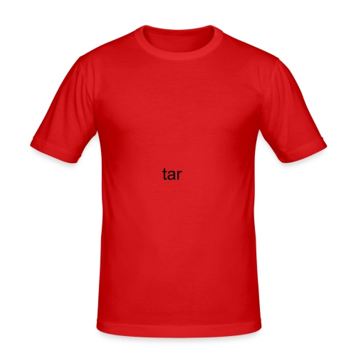 tar - Men's Slim Fit T-Shirt