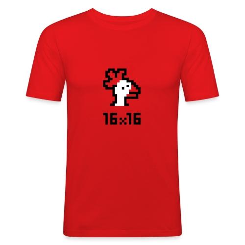 16x16 ouazo 4 - T-shirt près du corps Homme