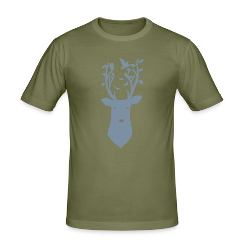 deerhead - Men's Slim Fit T-Shirt