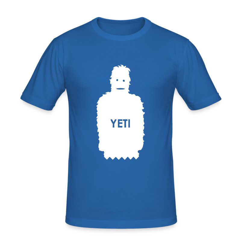 yeti - Men's Slim Fit T-Shirt