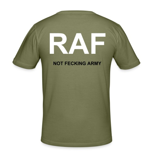 - Not Feckin Army - Men's Slim Fit T-Shirt