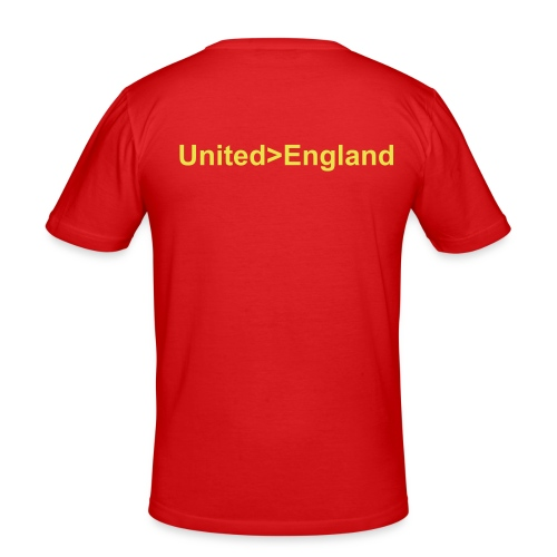 United - England - Men's Slim Fit T-Shirt