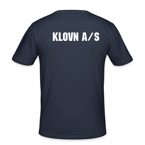 KLOVN - Slim Fit T-skjorte for menn