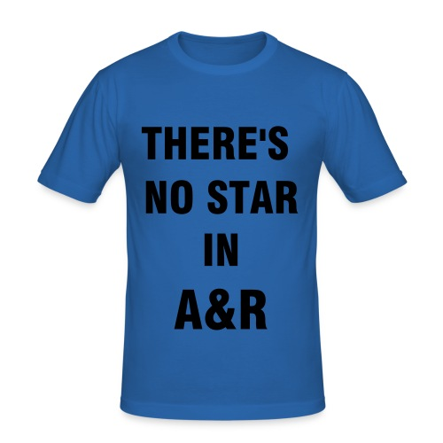 boys 'no star in a&r' - Men's Slim Fit T-Shirt