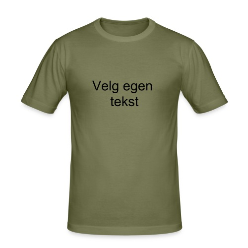 T-Shirt - Slim Fit T-skjorte for menn