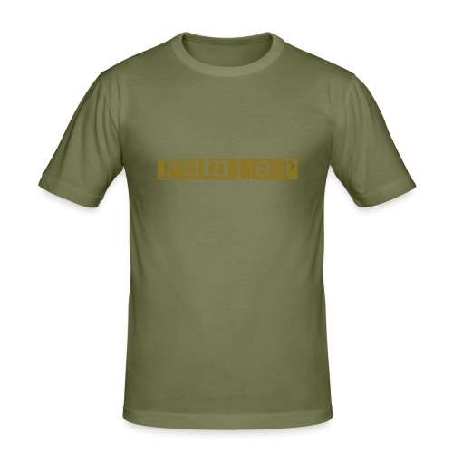 Fumier Golden - T-shirt près du corps Homme