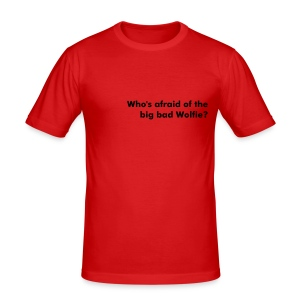 Guys 'Who's Afraid...?' Tee - Men's Slim Fit T-Shirt