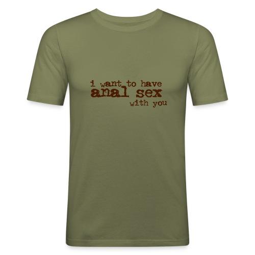 I want to have / Camel Man - T-shirt près du corps Homme