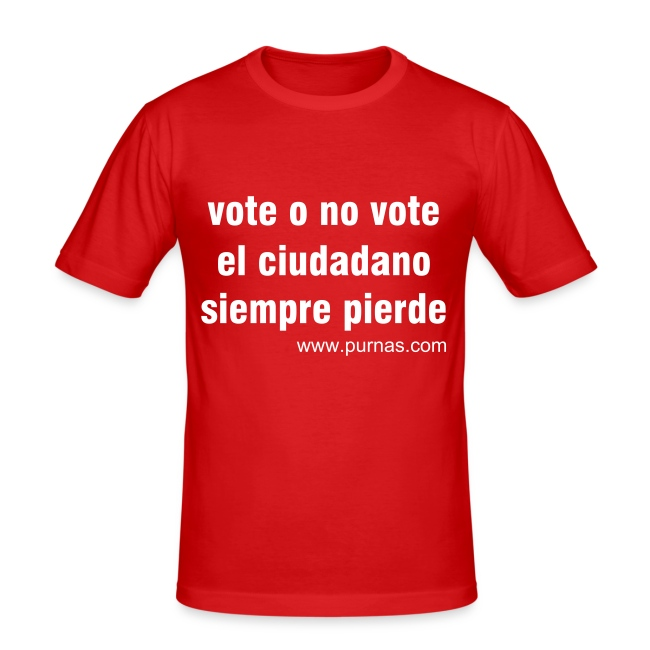 Vote o no vote Naranja