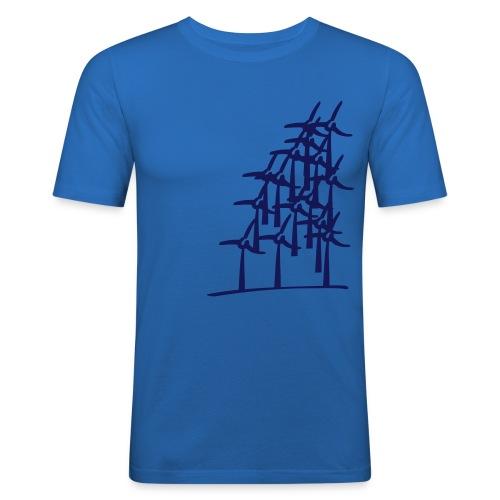 Windmill Shirt - Männer Slim Fit T-Shirt