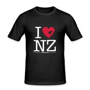 I Love NZ - Men's Slim Fit T-Shirt