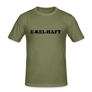 E-KEL-HAFT Men - Männer Slim Fit T-Shirt