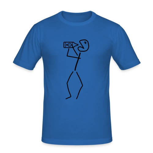 Myrkky - Slim Fit (2-puoleinen) - Miesten tyköistuva t-paita