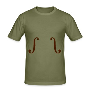 ƒƒ beige - Männer Slim Fit T-Shirt
