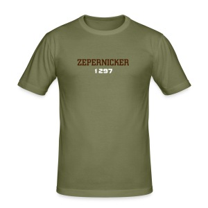 Zepernicker T-Shirt - Männer Slim Fit T-Shirt