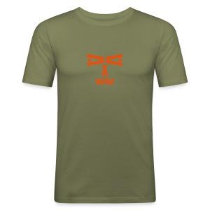 Letterface 2 T-Shirt - Männer Slim Fit T-Shirt