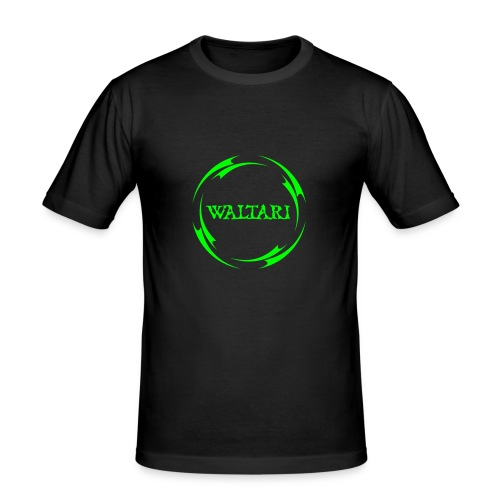 Triball black / green Slim fit - Men's Slim Fit T-Shirt