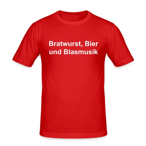 """B³"" - Slim fit T-Shirt - Männer Slim Fit T-Shirt"