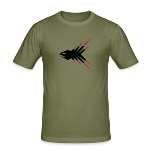 Splitterfisch T-Shirt - Männer Slim Fit T-Shirt