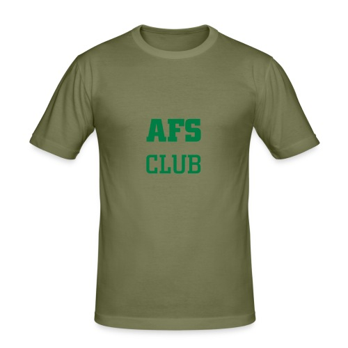 AFS Club - Hässliches Shirt - Männer Slim Fit T-Shirt