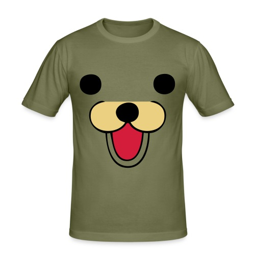 Men's Slim Fit T-Shirt - For all you bear lovers out there.