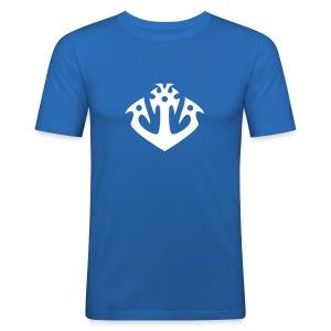 Anker navy T-Shirt - Männer Slim Fit T-Shirt