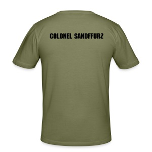 "Spaceballs ""Colonel Sandffurz"" - Männer Slim Fit T-Shirt"