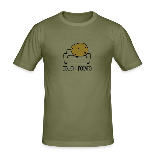 Couch Potato T-Shirt - Men's Slim Fit T-Shirt