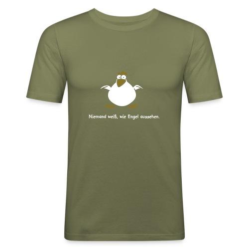 Unbekannter Engel - Männer Slim Fit T-Shirt