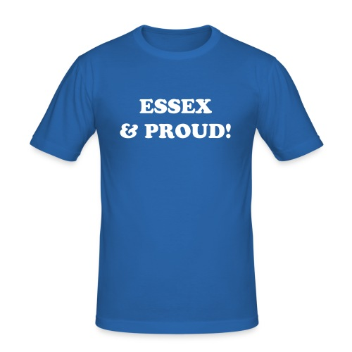 Proud To Be Essex - Men's Slim Fit T-Shirt