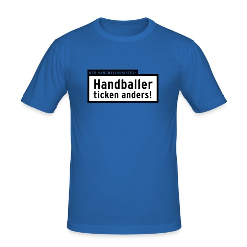 TICKEN ANDERS *Alle T-Farben* - Männer Slim Fit T-Shirt
