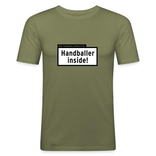 INSIDER *Alle T-Farben* - Männer Slim Fit T-Shirt