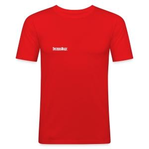 SvM-shirt Slim - Slim Fit T-shirt herr