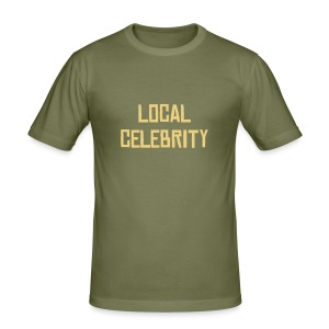 Local Celebrity - Slim Fit T-shirt herr