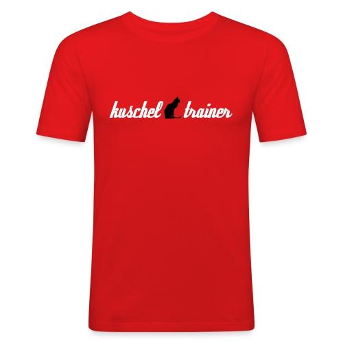 Kuschel Trainer - Männer Slim Fit T-Shirt