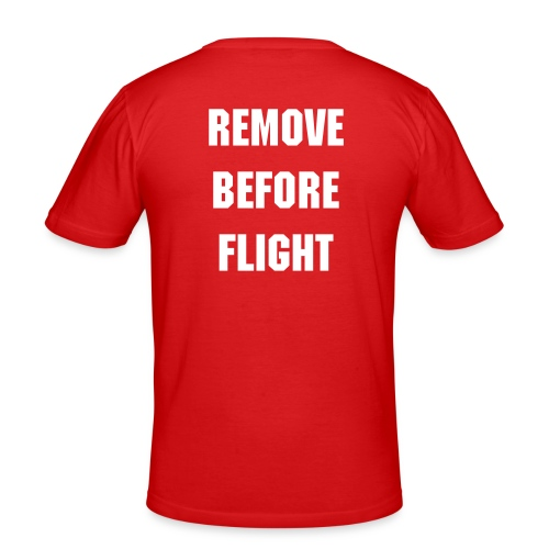 Tskjorte - REMOVE BEFORE FLIGHT - Slim Fit T-skjorte for menn