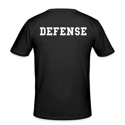 Defense tränings T-Shirt - Slim Fit T-shirt herr