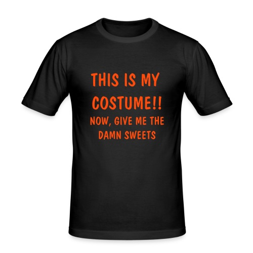 This is My Costume - Men's Slim Fit T-Shirt