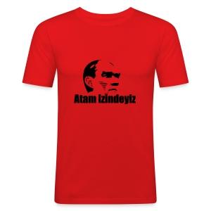 Atam izindeyiz - Männer Slim Fit T-Shirt