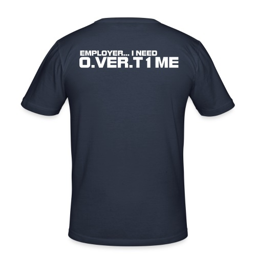 O.VER.T1ME - Men's Slim Fit T-Shirt