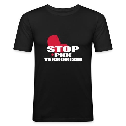 Stop PKK Terror - Männer Slim Fit T-Shirt