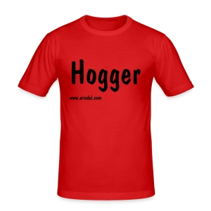 Hogger  (with name) - Men's Slim Fit T-Shirt