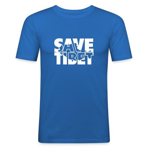 Free Tibet Border - Männer Slim Fit T-Shirt