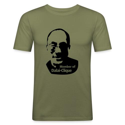 Dalai Lama + Clique - Männer Slim Fit T-Shirt