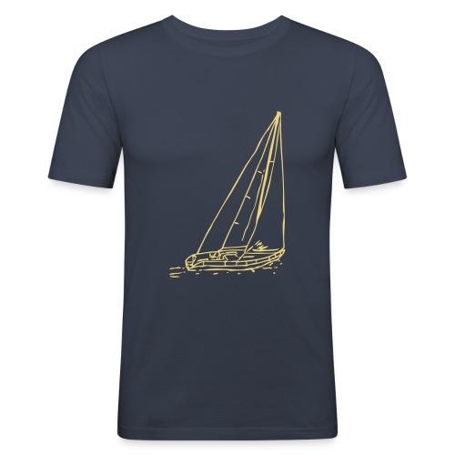 Segelboot #1 - Männer Slim Fit T-Shirt
