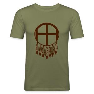 Dreamcatcher (Men) - Männer Slim Fit T-Shirt