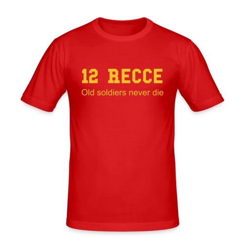 12 Recce - slim fit T-shirt