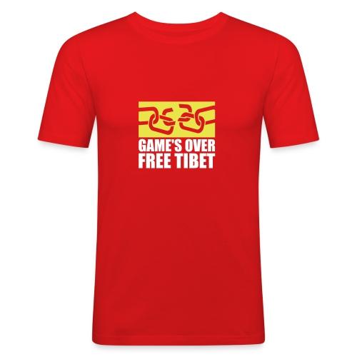 GAMES OVER 2c - Männer Slim Fit T-Shirt