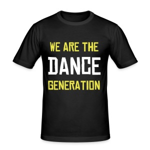 T-Shirt Moulant We are the dance generation - Tee shirt près du corps Homme